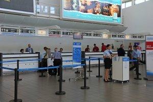 Onde trocar dinheiro em Punta del Este: Aeroporto Internacional de Laguna del Sauce