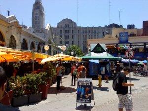 Montevidéu em março: Mercado del Puerto