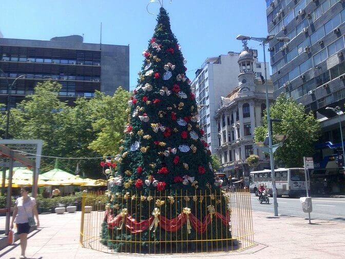 Feriados em Montevidéu em 2020: Natal