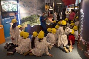 Espacio Ciencia - LATU em Montevidéu: crianças