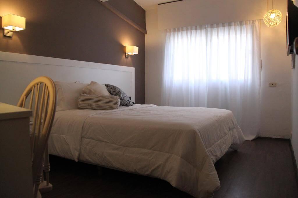 Quarto do Hotel Milano em Punta del Este