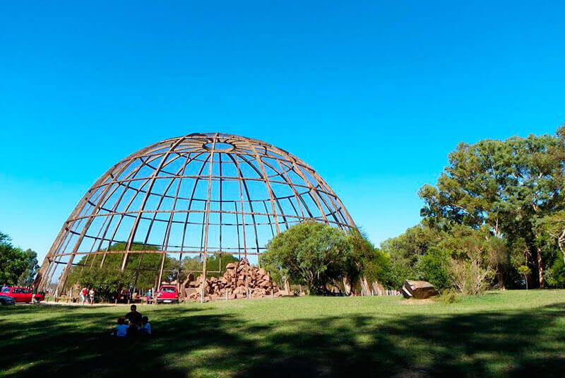 Montevidéu em outubro: ZooParqueLecocq