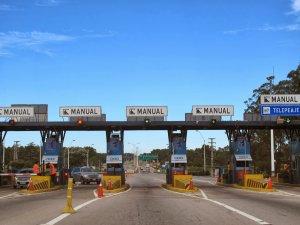 Viagem de carro de Montevidéu a Carmelo: estrada