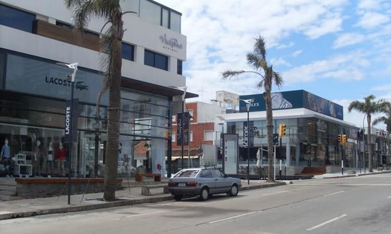 Punta del Este em agosto: Calle 20
