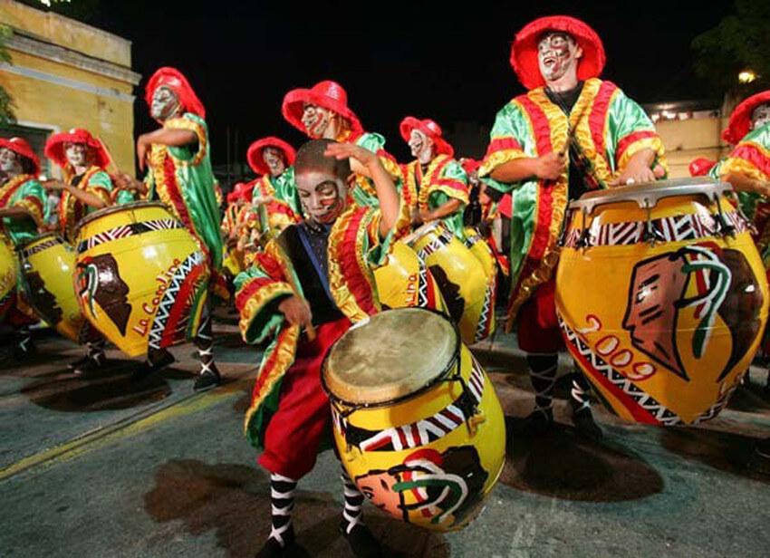 Feriados em Montevidéu em 2020: Carnaval