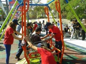 Parque de la Amistad em Montevidéu: atividades