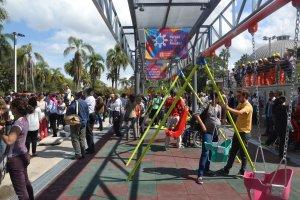 Parque de la Amistad em Montevidéu: brinquedos