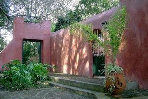 Parque Arboretum Lussich em Punta del Este: construções