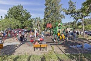 Parque El Jaguel em Punta del Este: playground