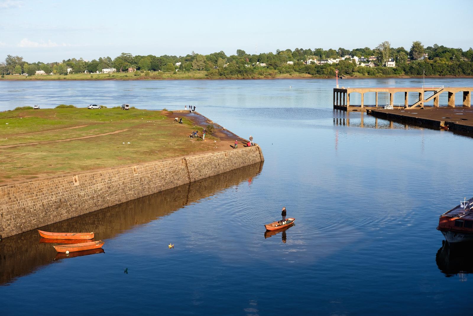 Cidades fora do roteiro turístico no Uruguai: rio