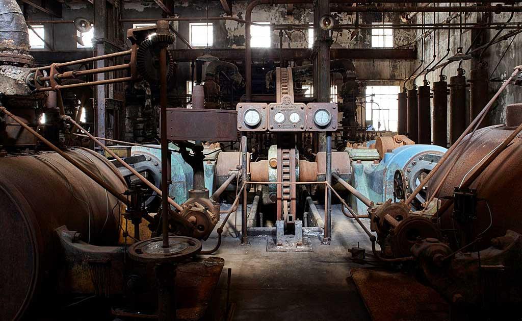 Museu da Revolução Industrial no Uruguai: máquinas