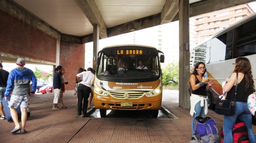 Transporte em Punta del Este: ônibus