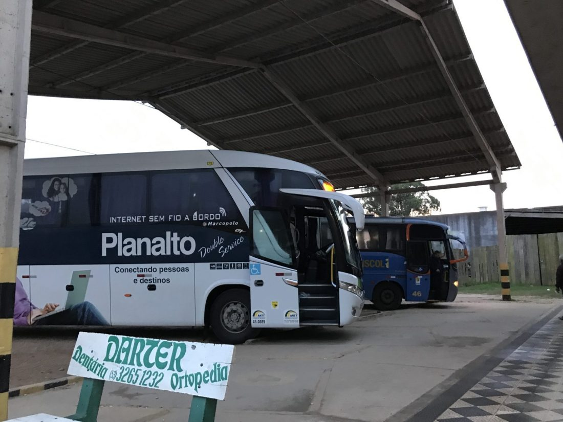 Transporte no Uruguai: transporte do Brasil ao Uruguai