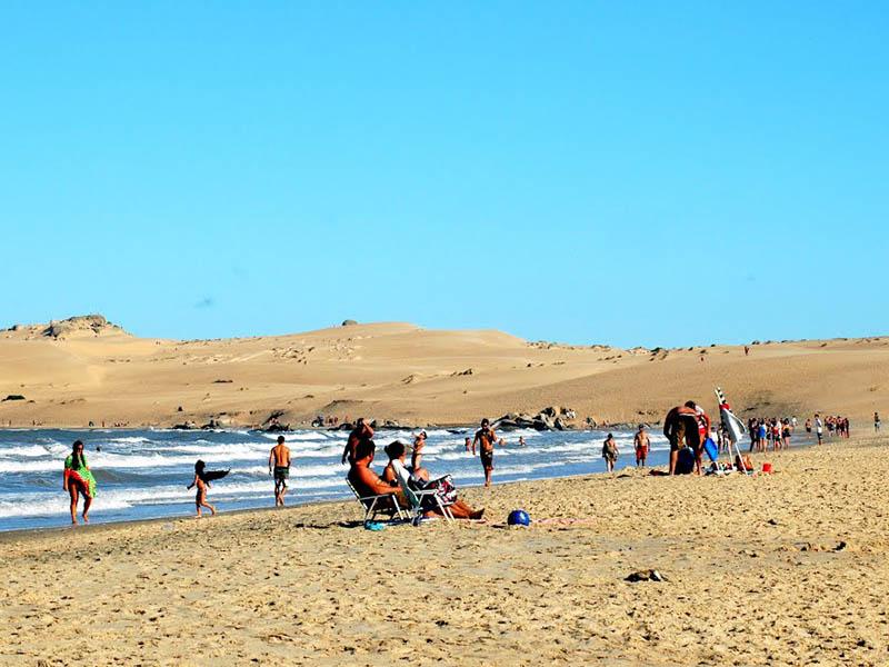 Cabo Polônio no Uruguai: praia