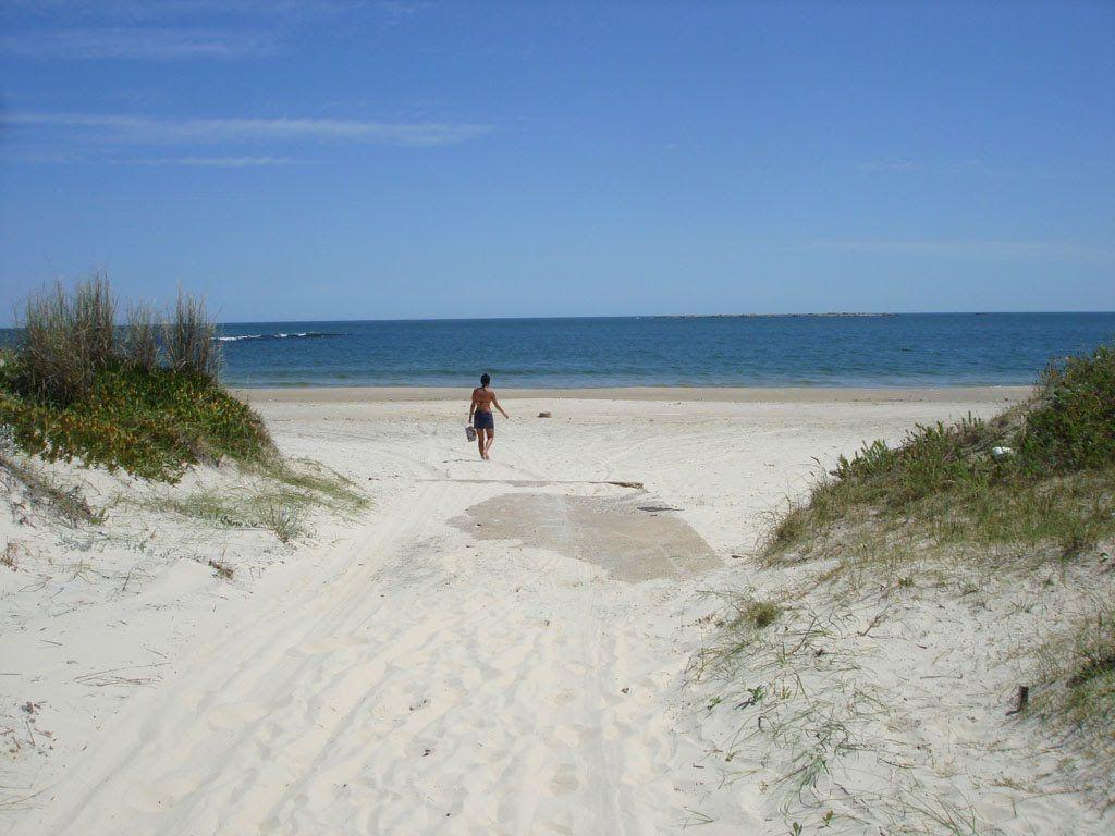 Canelones no Uruguai: praia
