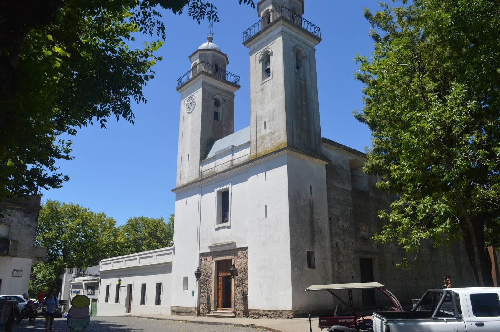 Colonia del Sacramento no Uruguai: igreja