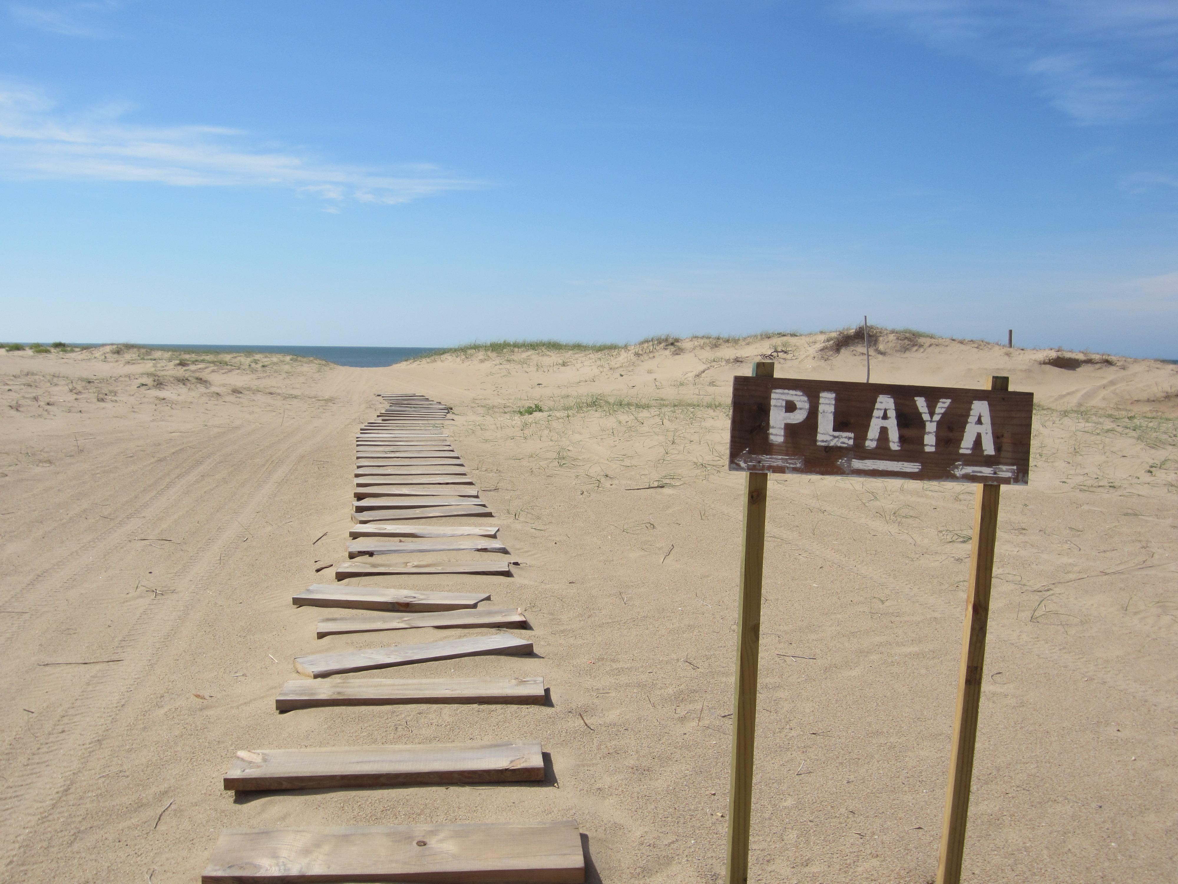José Ignacio no Uruguai: praia
