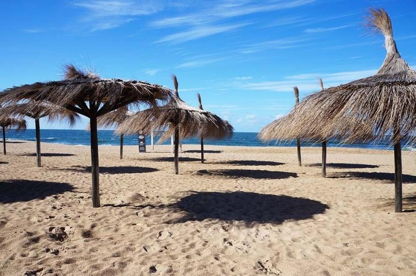 La Barra no Uruguai: praia