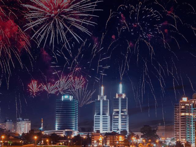 O que fazer no Ano-Novo em Montevidéu em 2018