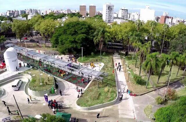 Parques em Montevidéu: Parque de la Amistad
