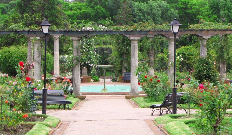 Parques em Montevidéu: El Rosedal