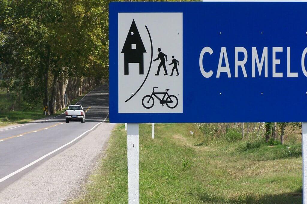 Viagem de carro de Montevidéu a Carmelo