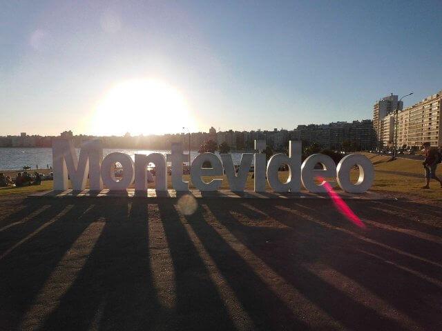 Montevidéu em janeiro
