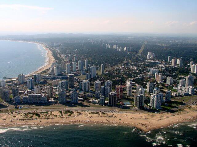 Punta del Este em maio