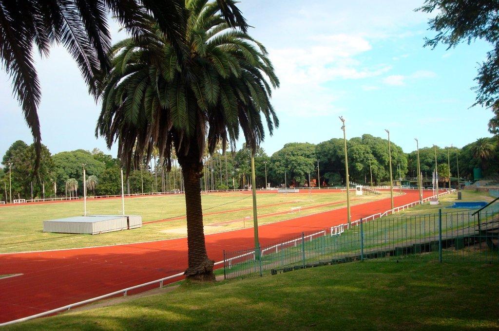 Parque Batlle em Montevidéu: Pista de Atletismo Darwin Piñeyrúa