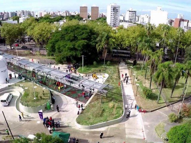 Parque de la Amistad em Montevidéu