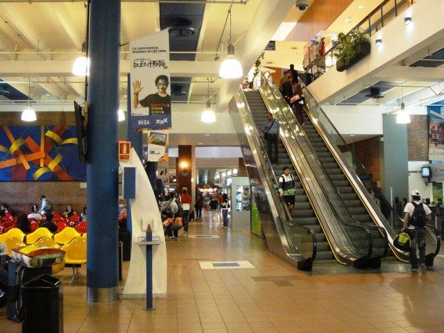 Shopping e Terminal Tres Cruces em Montevidéu