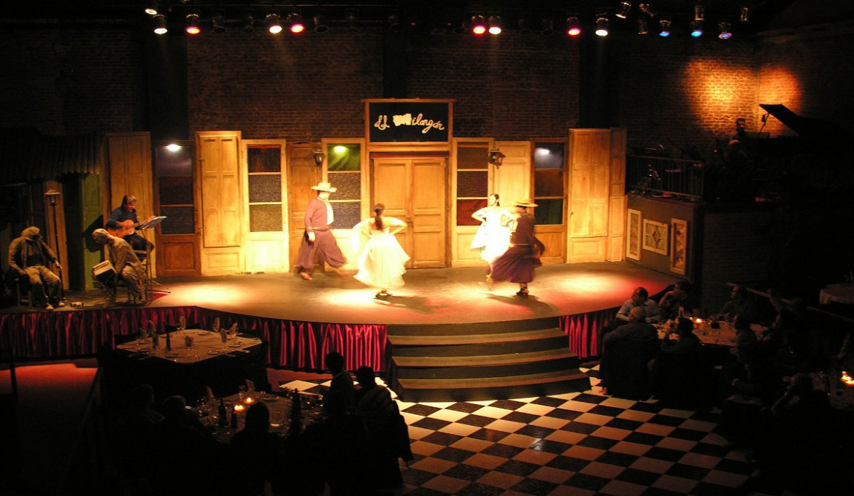Show de tango El Milongón em Montevidéu