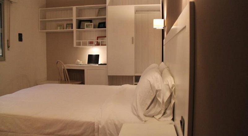 Quarto do Hotel Milano em Punta del Leste