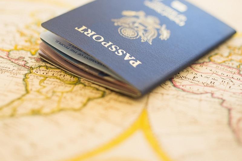 Passaporte para viagem para o exterior