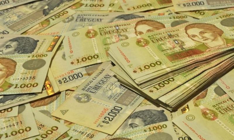 Pesos uruguaios em Punta del Este