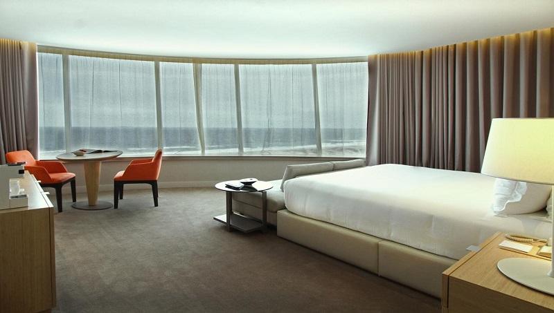 Quarto do The Grand Hotel em Punta del Este