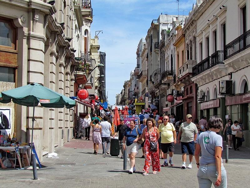 Ciudad Vieja em Montevidéu