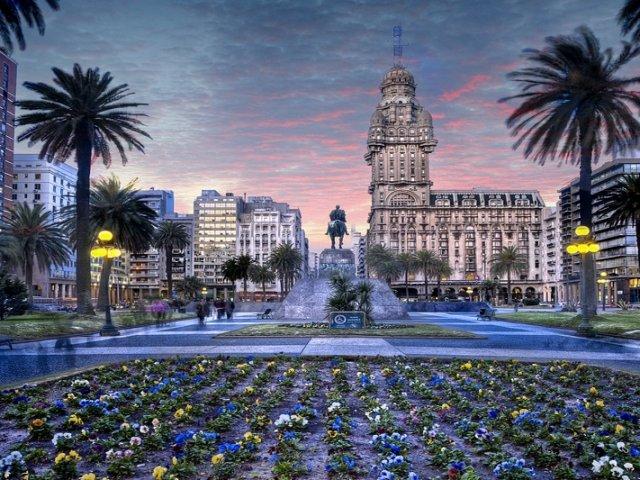 Lua de mel no Uruguai