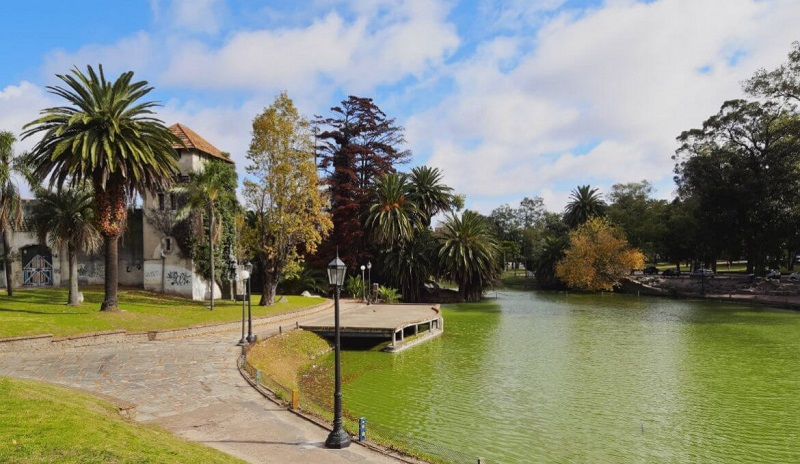 Parque Rodó em Montevidéu