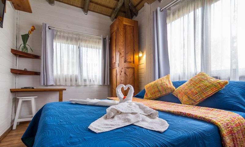 Quarto de hotel para a lua de mel dos sonhos no Uruguai