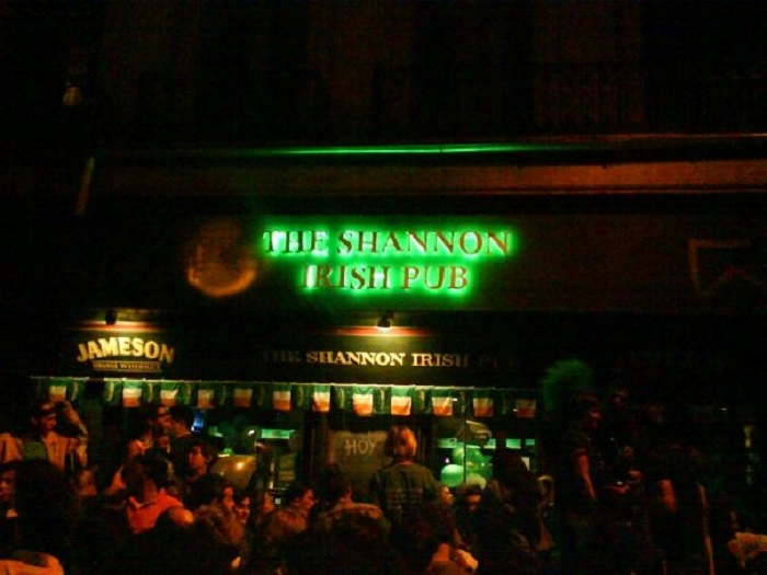 Melhores bares no Uruguai: The Shannon Irish Pub