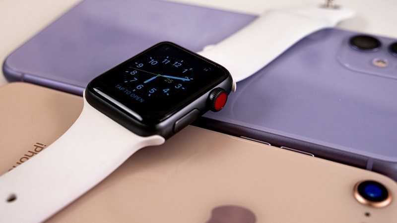 Apple Watch e iPhone