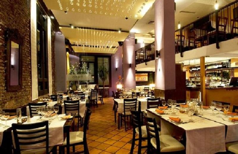 Restaurante Francis no Natal no Uruguai